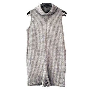 Zara Sleeveless Knit Romper Size M